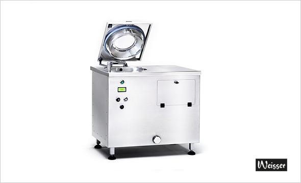 Weisser WSA40 - Salatwaschmaschine - Wasch- und Schleuderautomat für Salat, Obst & Gemüse