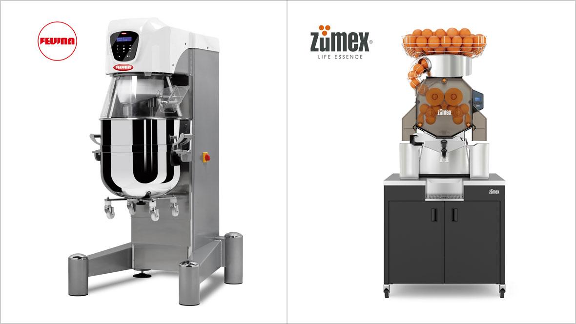 Südback 2019 - Feuma Rührmaschinen + Zumex Orangensaftpressen