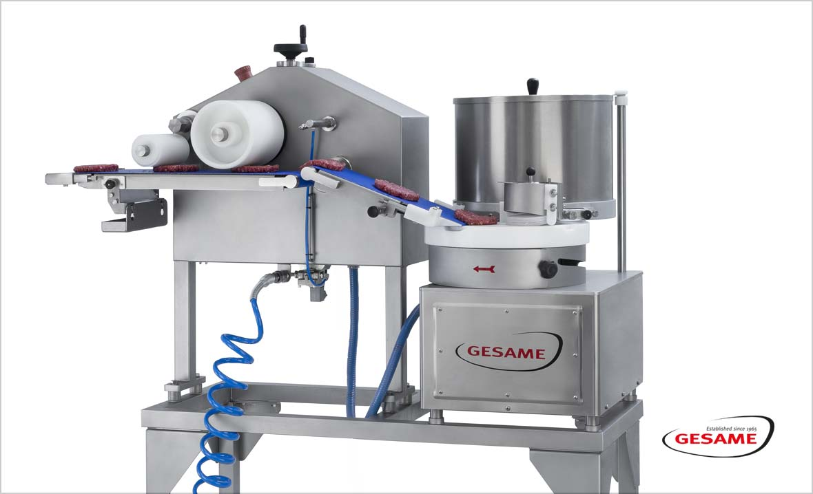 Gesame MH-Super-114  - Hamburgerformmaschine