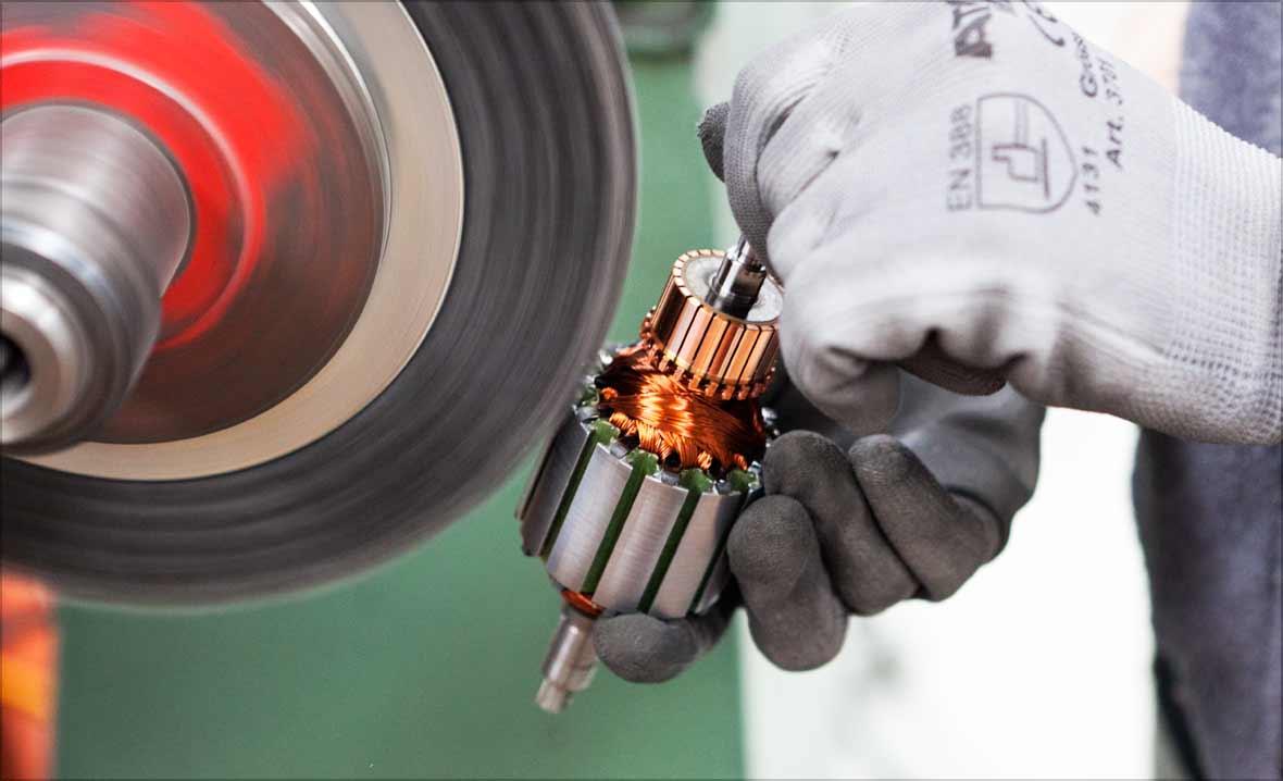 Made in Switzerland - auch heute noch findet die komplette Produktion im eigenen Werk in der Schweiz statt.
