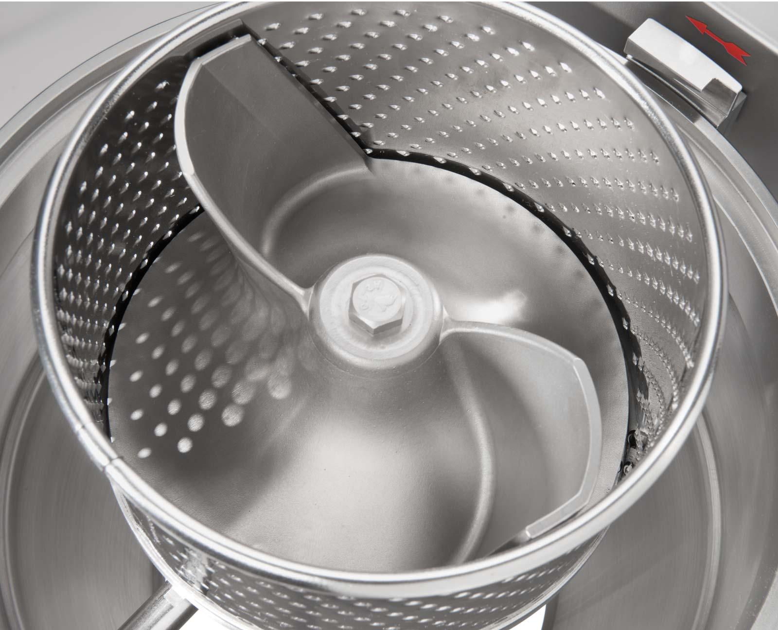 Schneidwerkzeuge aus eigener Produktion - Feuma HU Multifunktions-Küchenmaschine für die Profiküche