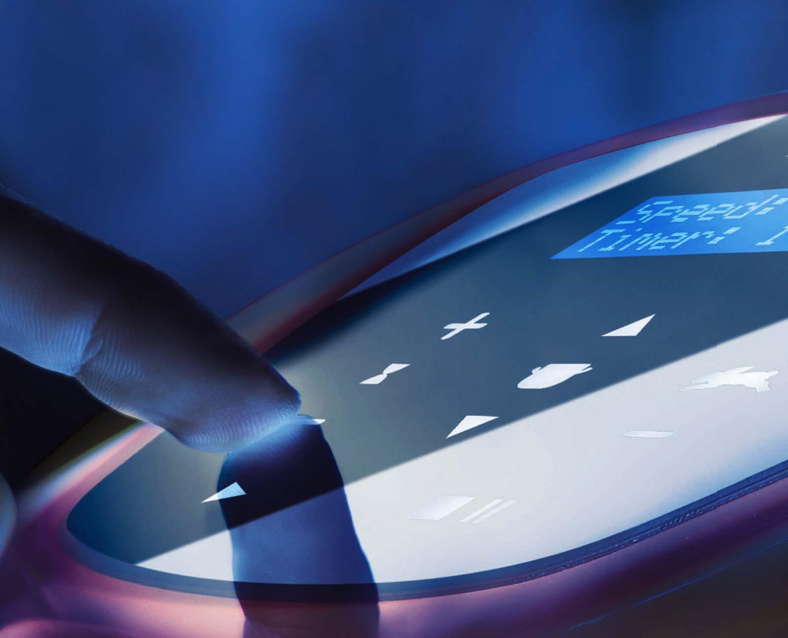 Feuma Planetenrührer - spritzwassergeschützter Touchscreen mit IP54