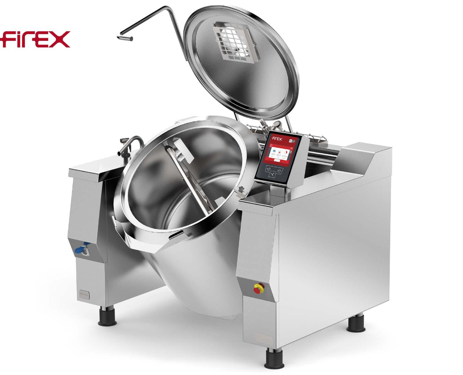Firex Baskett Kipp-Kochkessel mit Rührwerk PRIG130_V1