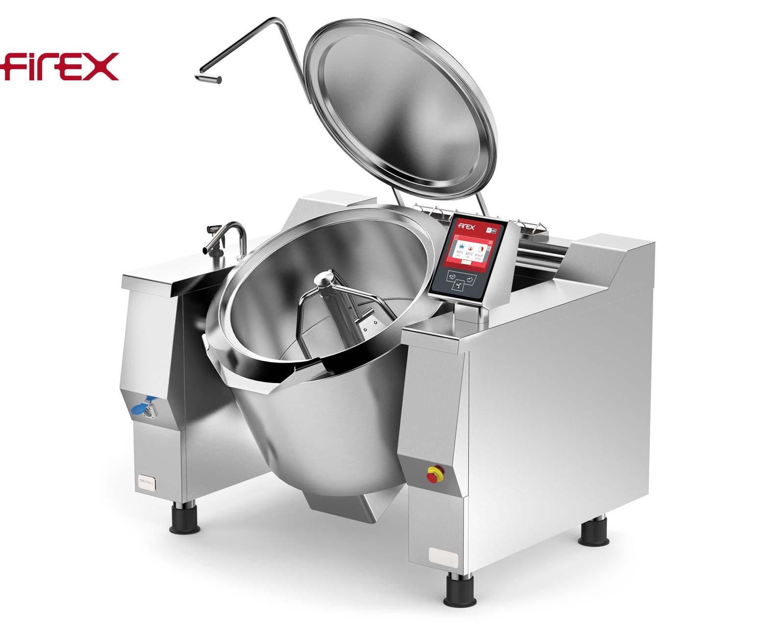 Firex Cucimix CBTE0180 V1 180 Liter Bratpfannen-Kochkessel-Kombination mit Rührwerk