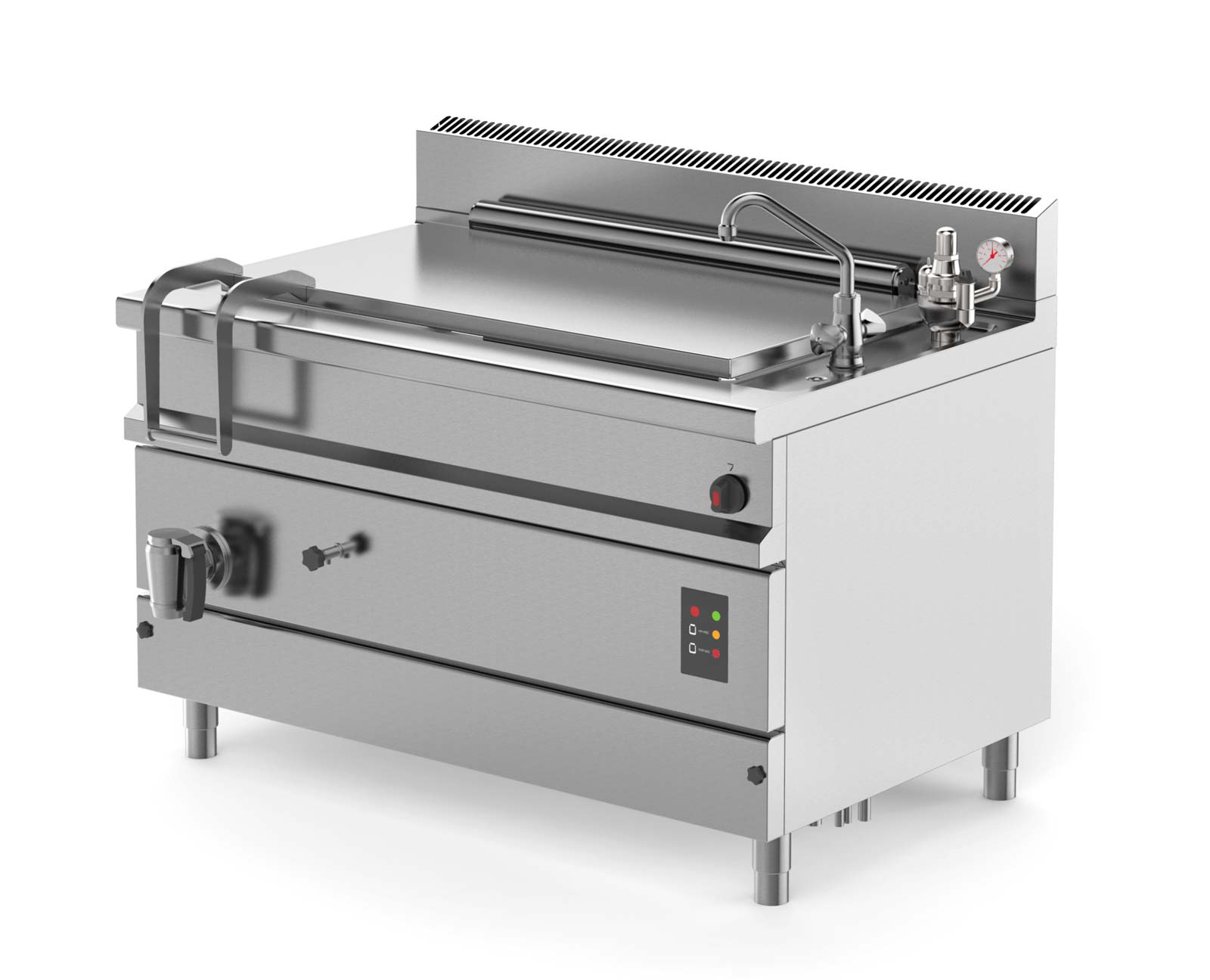 Firex Easypan Extragrosse Gastronorm-Kochkessel mit 200, 300, 400 Liter