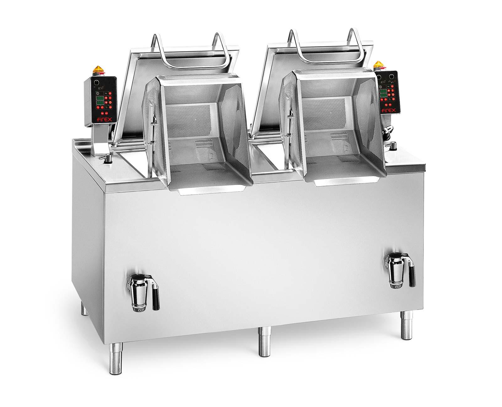 Firex Multicooker Nudelkocher Pastakocher mit 2 Körben