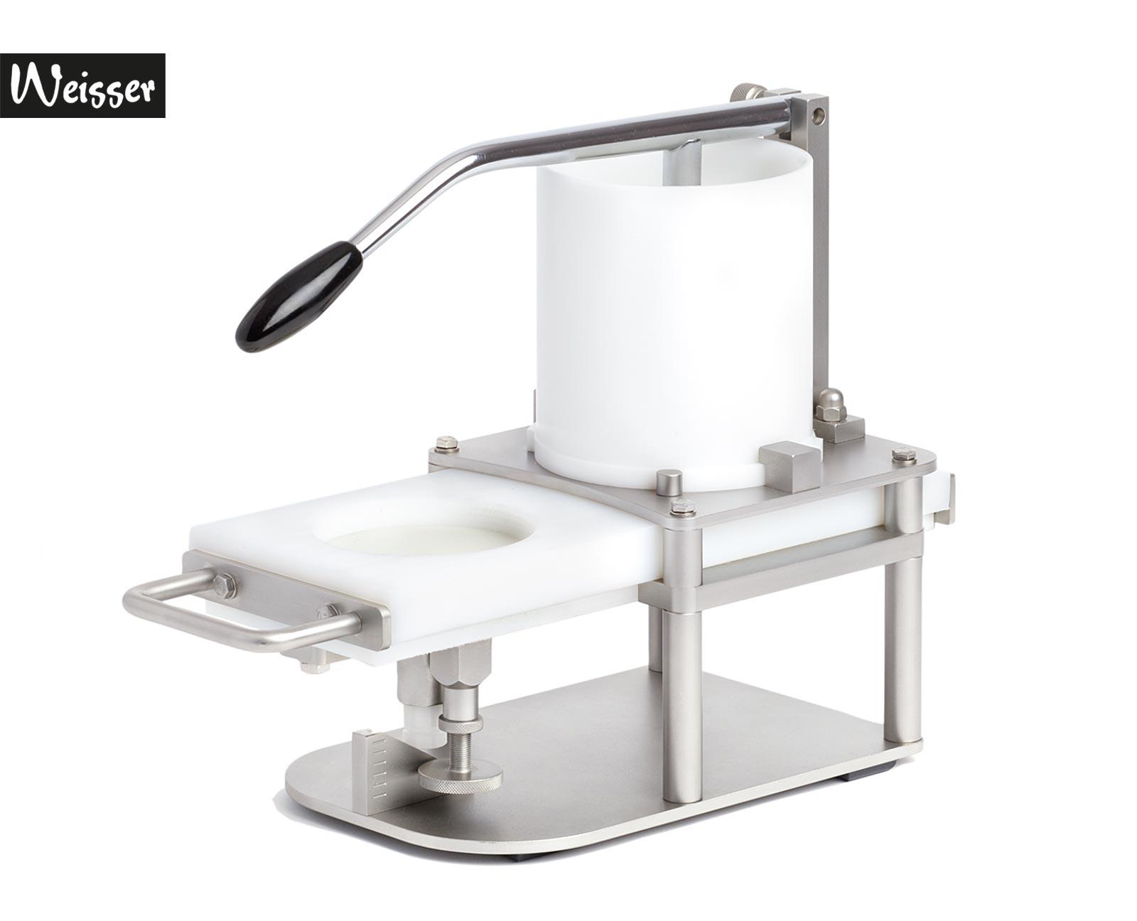 Weisser HP-93 Burger-Formmaschine