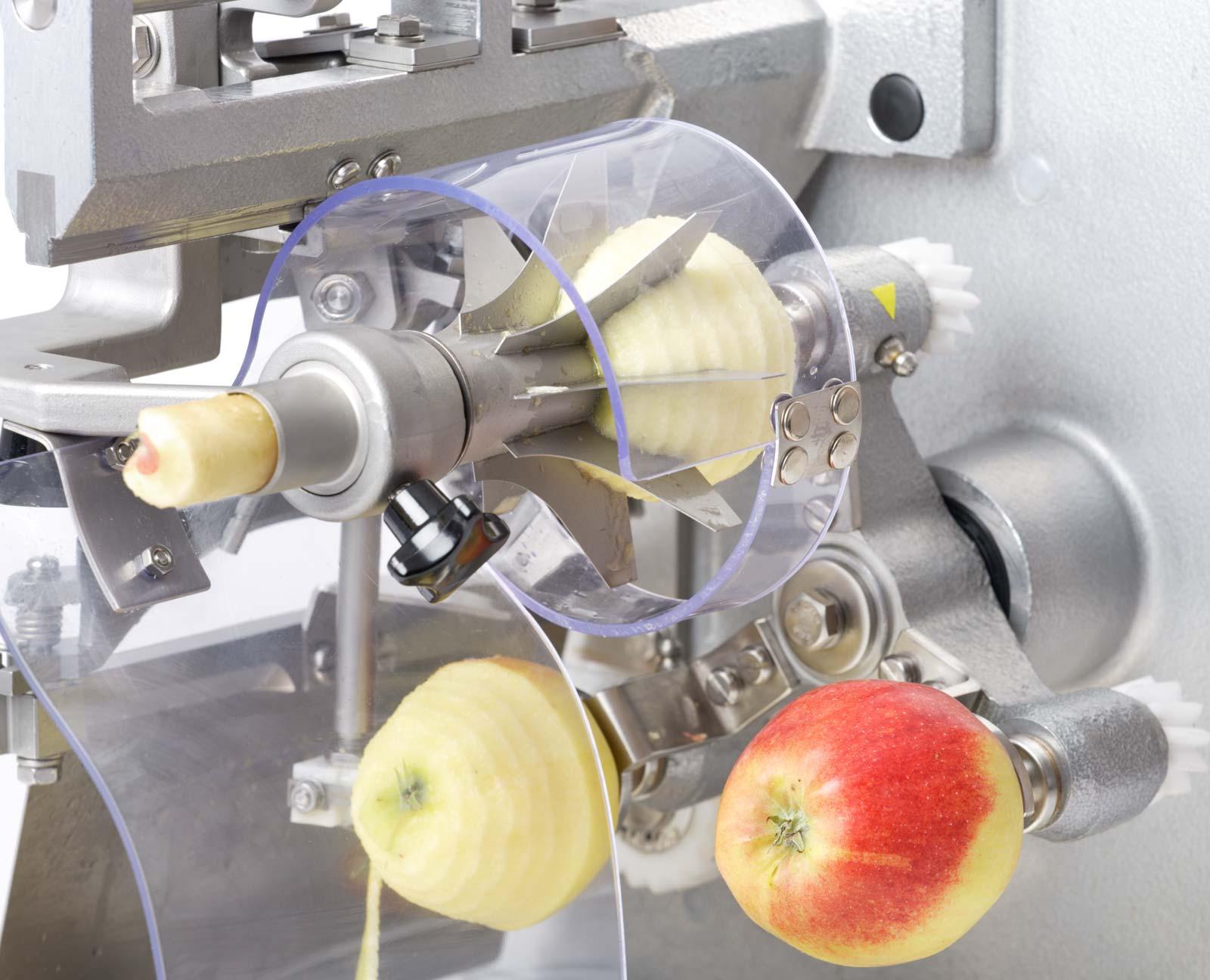 Feuma elektrische Apfelschälmaschine ASETM & ASETSM für den professionellen Anwender