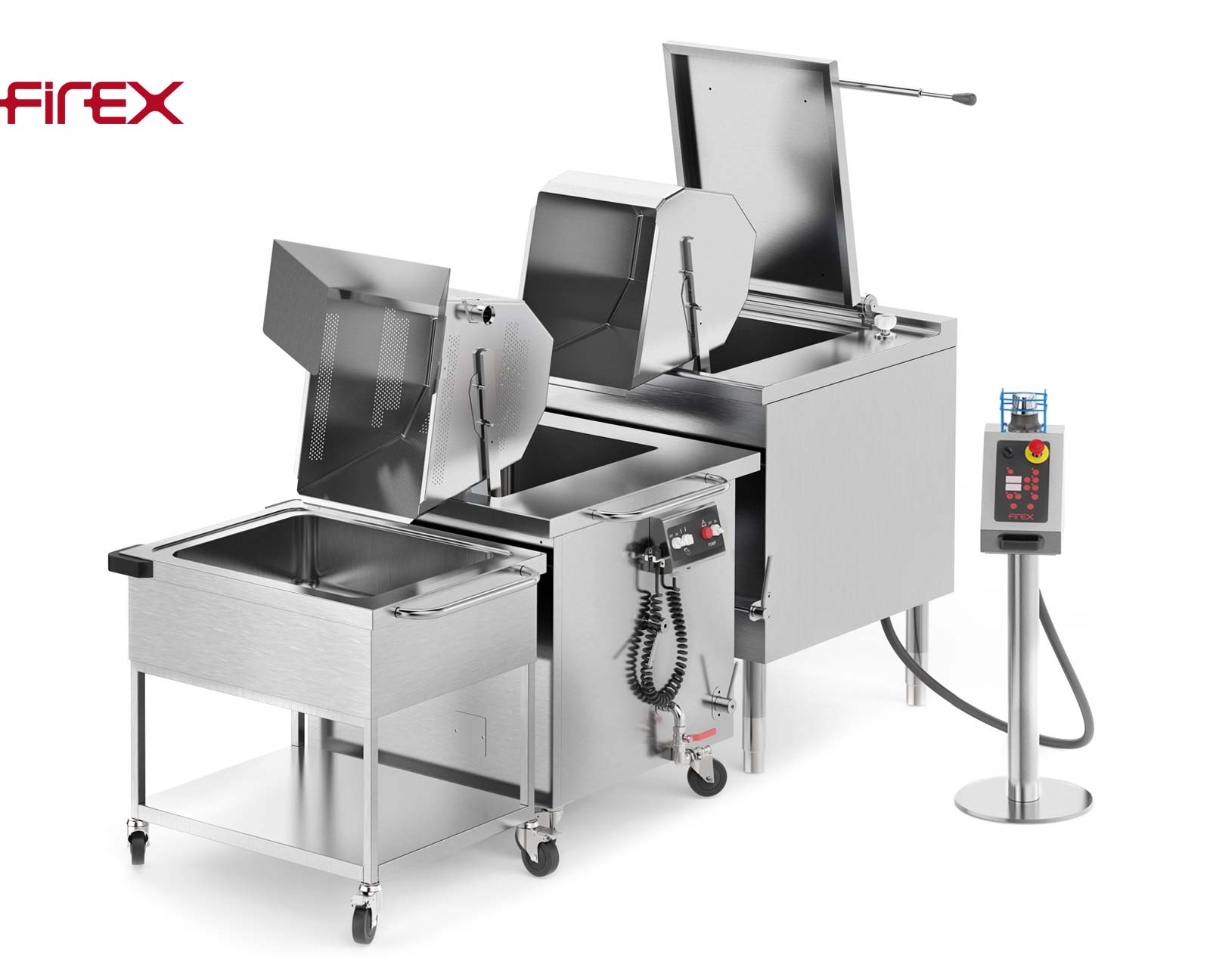 Firex Multicooker automatische Nudelkocher Prozesslinie