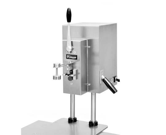 Weisser DO 60 / FDO 60 – Elektrischer Tisch-Dosenöffner