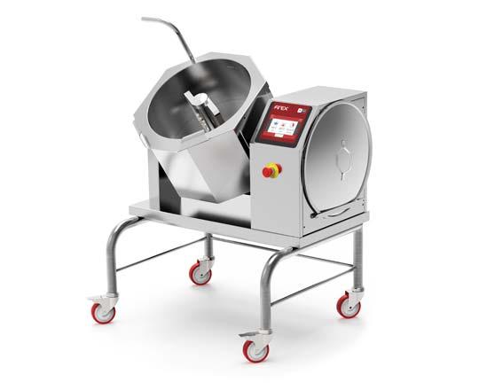 Firex Cucimix 30 Liter – Kleine Kippbratpfanne & Kochkessel Kombination mit Rührwerk