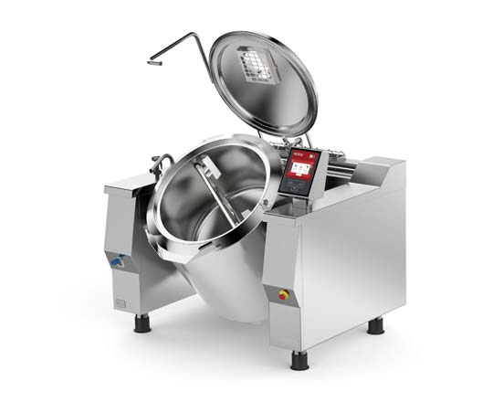 Firex Baskett – Kipp-Kochkessel mit  Rührwerk / ohne Rührwerk
